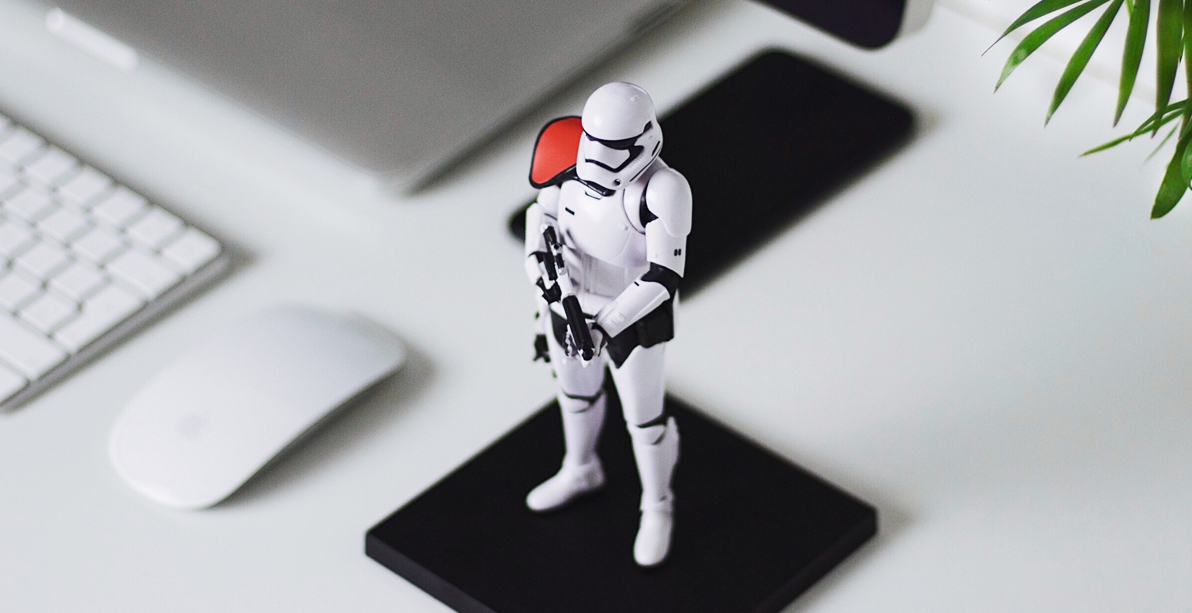 Stormtrooper on a mousepad
