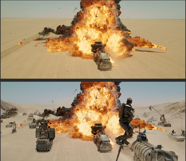 Mad Max compositing